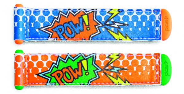 POW - ong/blue